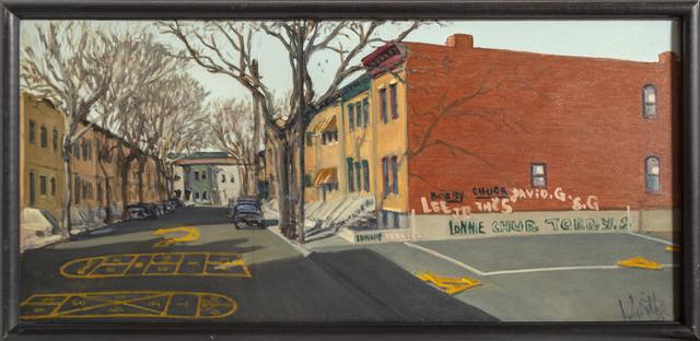 William Waithe, 'Newark Street', ca. 1980, RoGallery