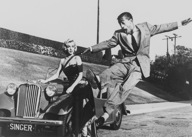 Frank Worth, 'Marilyn Monroe with Sammy Davis, Jr., on set of How to Marry a Millionaire', 1953, Heritage Auctions
