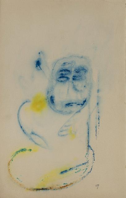 Henri Michaux, 'Tête bleue', 1955, Millon