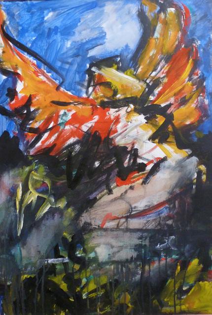 , 'Bird in Flight,' 1979, Boundary Gallery