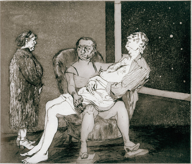 , 'After Hogarth: After Hogarth III,' 2000, Marlborough Gallery