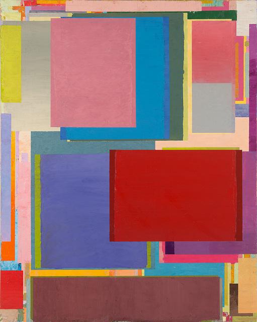 , 'Den Tisch in die Ecke stellen 68,' 2017, PIFO Gallery