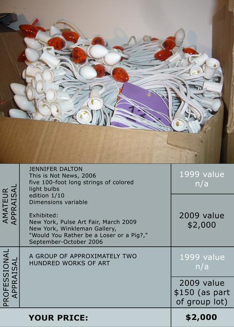 Jennifer Dalton, 'The Reappraisal (#5252742)', 2009, Winkleman Gallery
