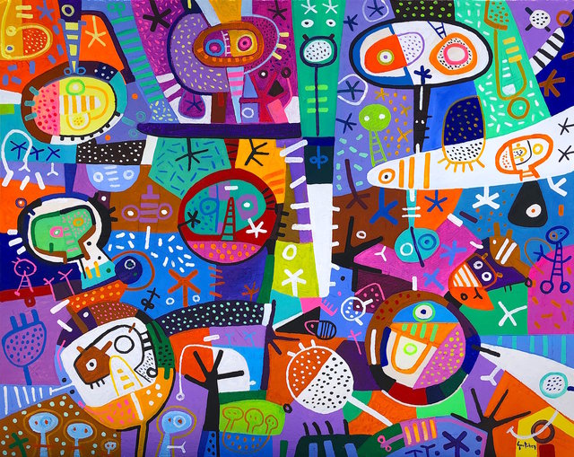 Jose Antonio Gurtubay, 'En el Carnaval', 2019, Aura Galerias