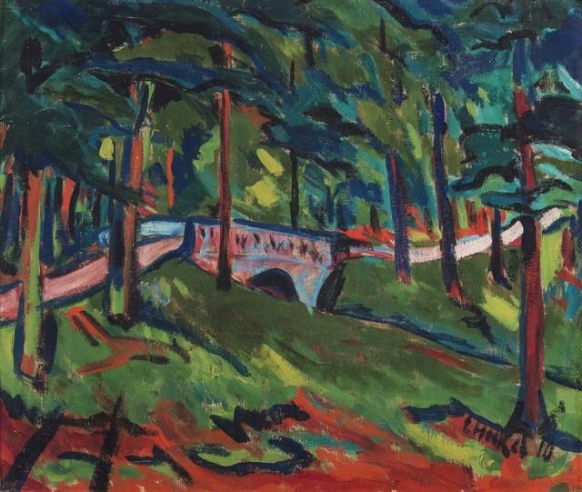 , 'Parklandschaft (Park Landscape),' 1910, Galerie Thomas