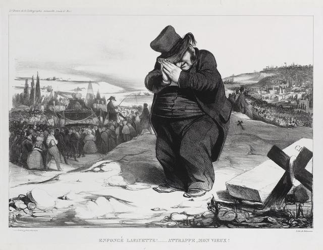 , 'Enfoncé Lafayette!...Attrape mon vieux!,' 1834, David Tunick, Inc.