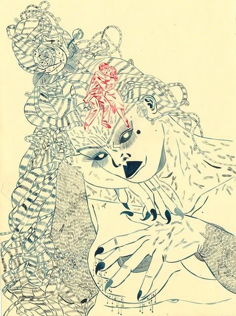 , 'Cavegirl Monoluge II ,' 2017, FMLY
