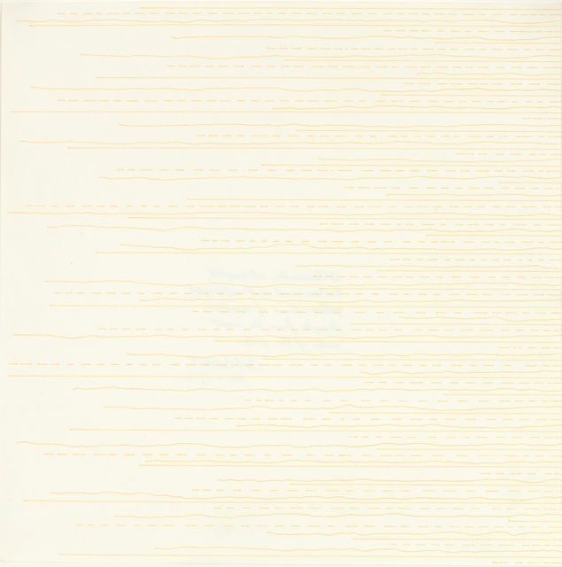 , ' Alternate Straight, Broken and Not-Straight Lines from the Left Side,' 1972, Zeit Contemporary Art