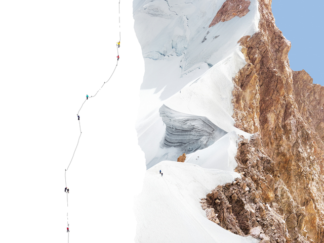 , 'Alps - Geographies and People #12,' 2012, Matthew Liu Fine Arts