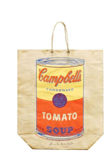 Andy Warhol, 'Campbell's Shopping Bag', 1966, Sworders