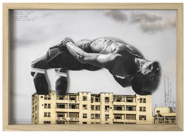 , 'GIANTS, Mohamed YOUNES IDRISS from Sudan, Recherche #5 © Comité international Olympique, Rio de Janeiro, Brazil, 2017,' 2017, Lazinc