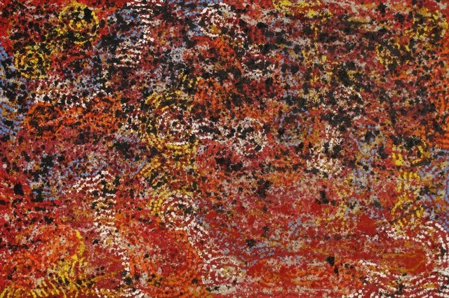 Barbara Weir, 'Fire Dreaming', ca. 2015, Painting, Acrylics and Natural Ochre on Linen, Wentworth Galleries