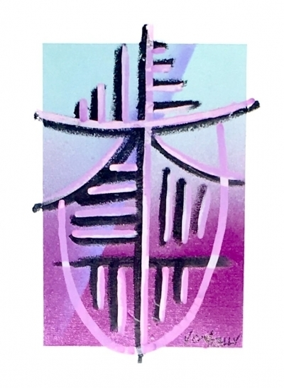 , 'Electric Totem III,' 2015, ABXY