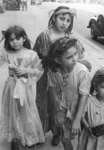 Helen Levitt, 'N.Y.C. (Gypsy girls)', 1942, Laurence Miller Gallery