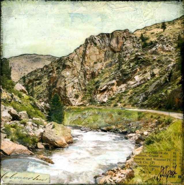 , 'Verdant Canyon,' 2019, Abend Gallery