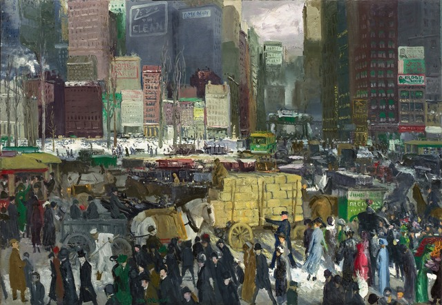 , 'New York,' 1911, National Gallery of Art, Washington, D.C.