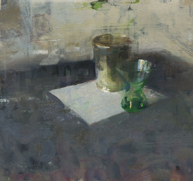 , 'Still Life with Green Glass,' 2015, Somerville Manning Gallery