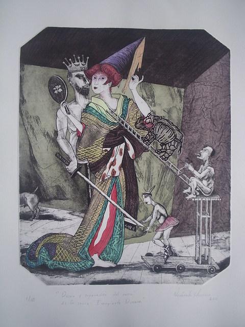 """, 'Permanencia y deseo"""" de la serie Imagínate Durero,' 2011, Imlay Gallery"""