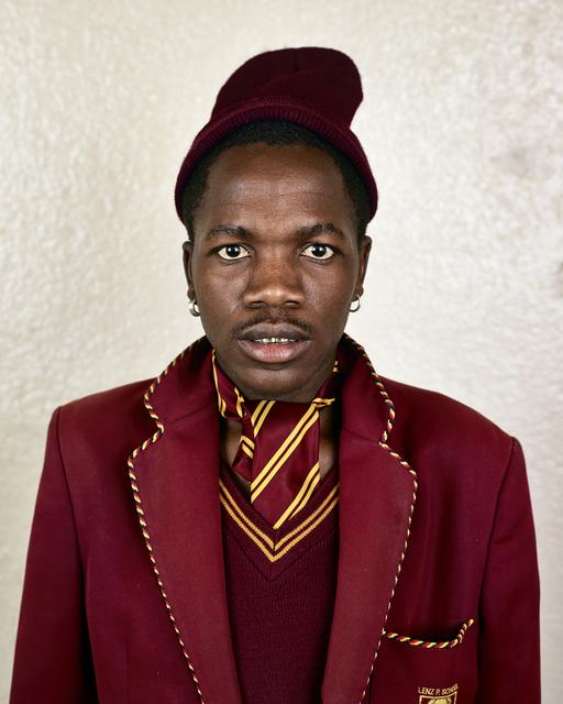 ", 'Sfiso Lukhele, Soweto, from the series ""Kin"",' 2013, PRISKA PASQUER"