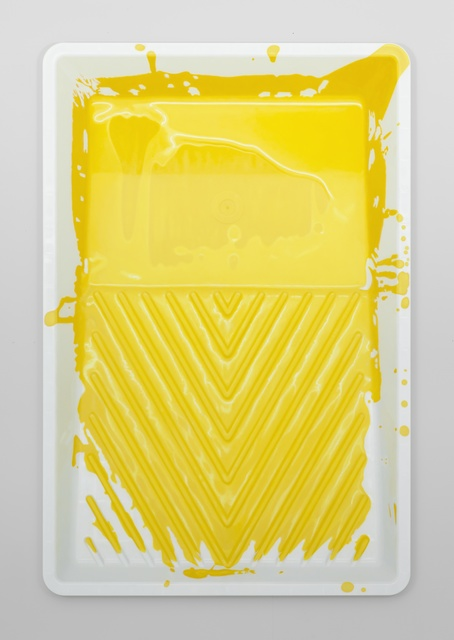 , 'Paint Tray (Yellow),' 2017, PRIVATEVIEW