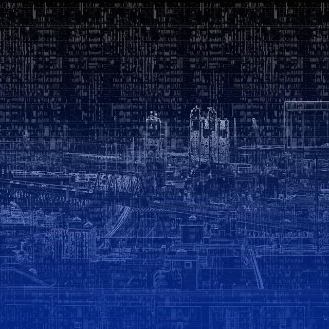 , 'MetroCryptogram 2,' 2014, GALERÍA ETHRA