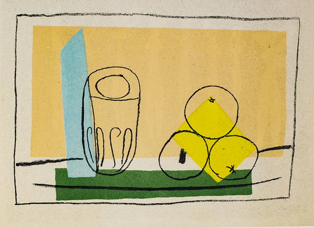 Pablo Picasso, 'Nature Morte Aux Trois Pommes (Still Life With Three Apples), 1949 Limited edition Lithogrph by Pablo Picasso', 1949, White Cross