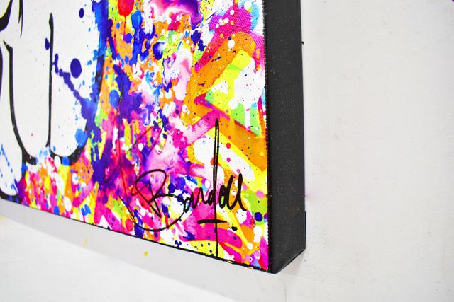 Vincent Bardou, 'I'M FAMOUS', 2020, Painting, Painting on canvas on stretcher - aerosol paint, acrylic, Design By Jaler