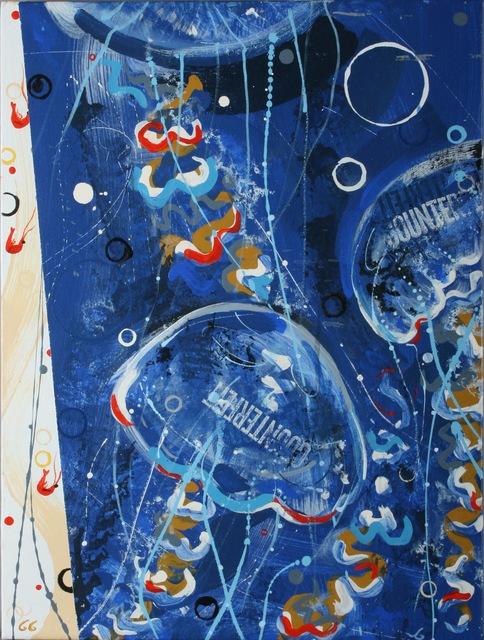 , 'Jellyfish and shrimp,' 2011, ArtGiverny