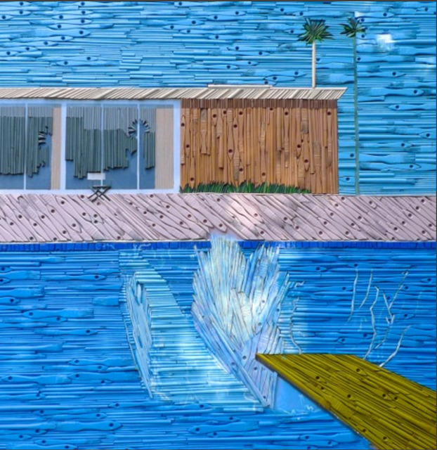 , 'The Big Splash - Hockney,' 2016, Maddox Gallery
