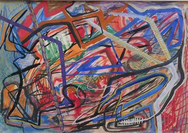 , 'Untitled Abstraction,' 1947, Lawrence Fine Art