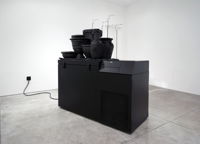 , 'the cold year,' 2015, Inman Gallery
