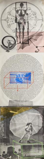Robert Rauschenberg, 'Visual Autobiography: X-Ray, Circle of Words, Dance', 1968, Rago