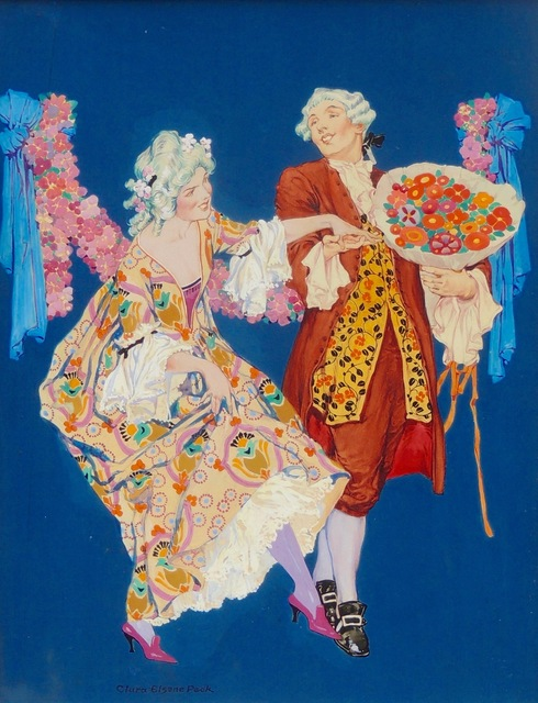Clara Peck, 'Dancing Couple at the Ball, Theatre Magazine Cover', The Illustrated Gallery