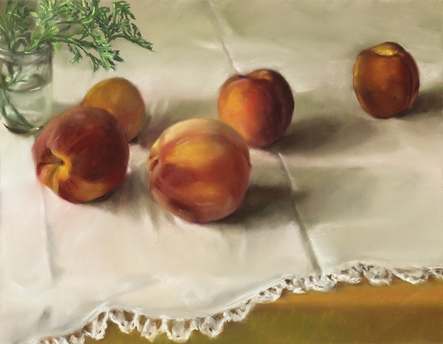 , 'Pattie's Peaches,' 2013, Atrium Gallery