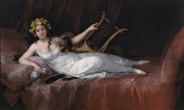 , 'The Marchioness of Santa Cruz,' 1805, The National Gallery, London