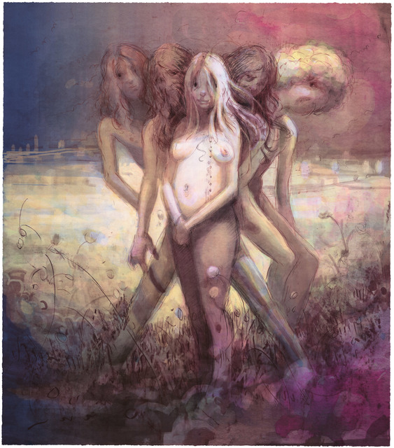 , 'Hippies in Tit Heaven,' 2015, Universal Limited Art Editions