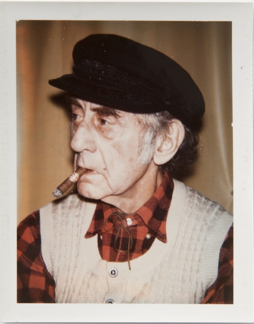 Andy Warhol, 'Andy Warhol, Polaroid Portrait of Man Ray, 1974', 1974, Hedges Projects