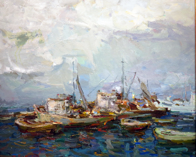 , 'Night in Port,' 1961, Gallery 901
