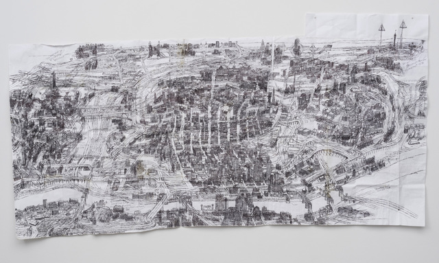 , 'Cincinnati Map I,' 2016, Western Exhibitions
