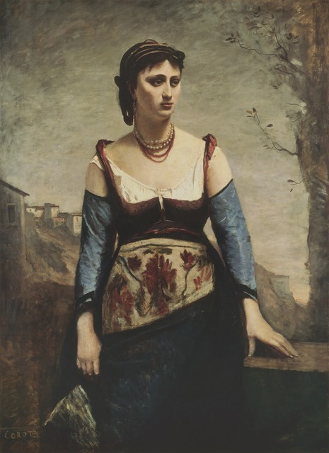 Jean-Baptiste-Camille Corot, 'Agostina', 1866, National Gallery of Art, Washington, D.C.
