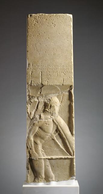 'Grave Stele of Pollis', ca. 480 BCE, J. Paul Getty Museum