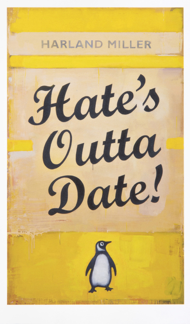 Harland Miller, 'Hates Outta Date', 2017, Tate Ward Auctions