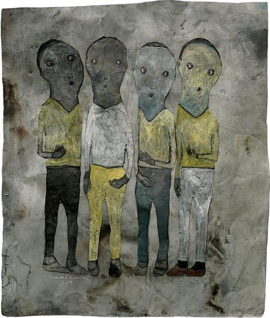 , 'Conversation IX,' 2019, One Off Contemporary Art Gallery