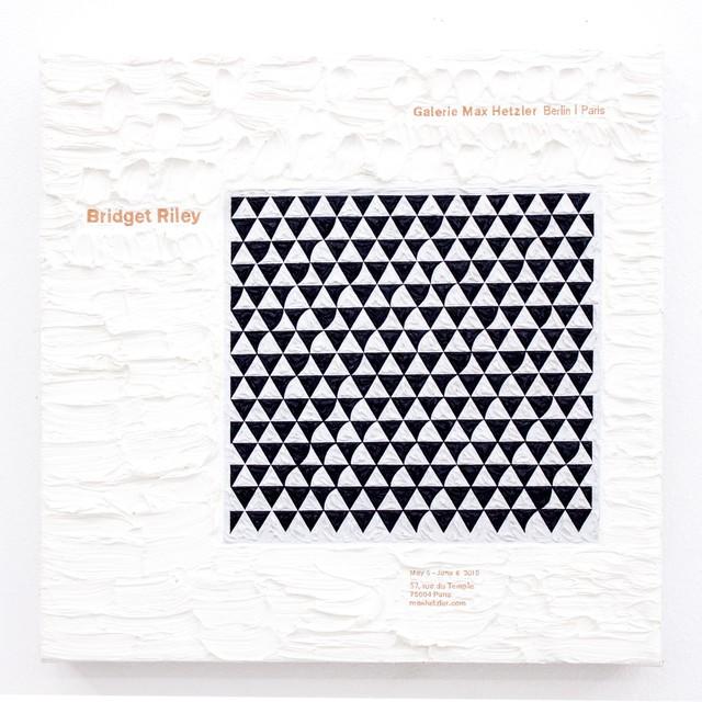 , 'Bridget Riley at Max Hetzler,' 2016, Thomas Brambilla