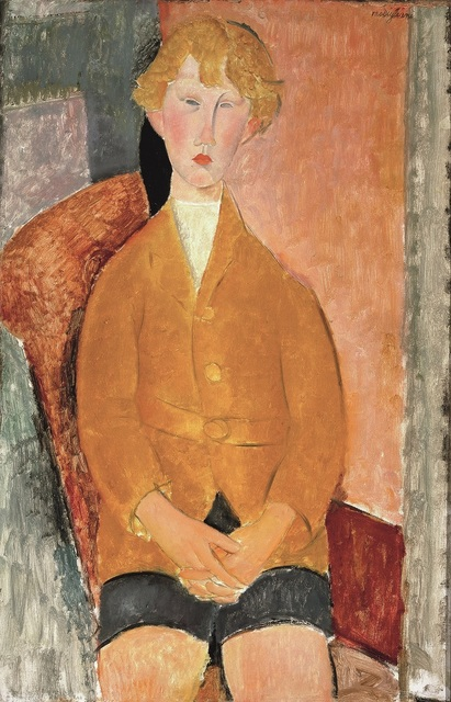 , 'Boy in Short Pants,' 1918, Tate Modern