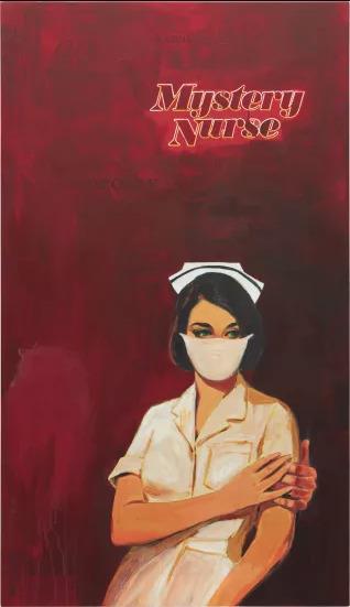 "RICHARD PRINCE ""Mystery Nurse"", 2009"