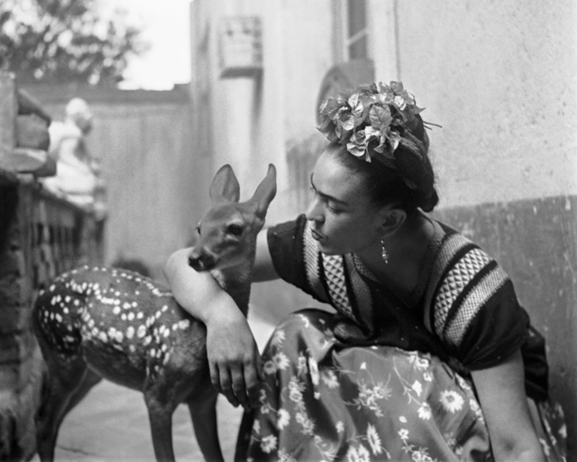 , 'Frida with Granizo, Version 2, Coyoacan,' 1939, PDNB Gallery
