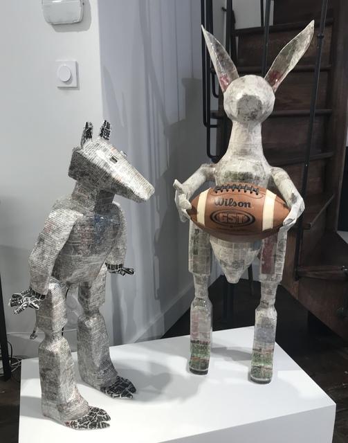 , 'Football Rabbit,' , Galerie Dumonteil