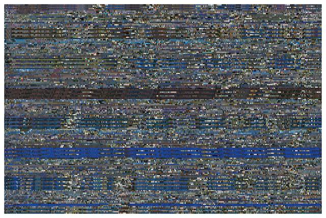 , 'One Week Skin (CNN-Hs),' 2012, Mark Moore Fine Art
