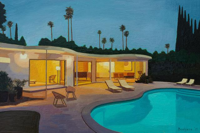 , 'House at Dusk,' 2019, Cynthia Corbett Gallery